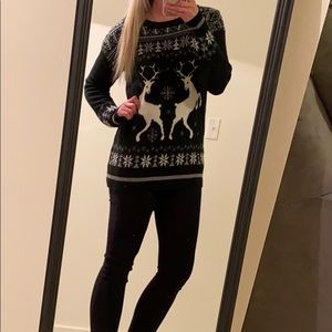 Navy Winter Sweater